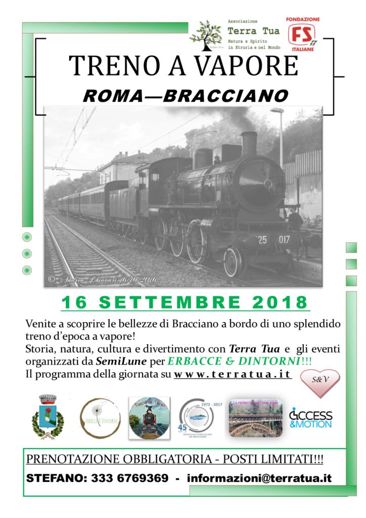 locandina treno roma bracciano